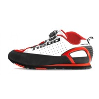 BUTY ROWEROWE HEBO BIKE TRIAL BUNNYHOP SHOES WHITE