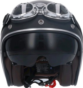 KASK SHIRO SH-235 FIBER Matt Black XS (54-55) BLENDA I OKULARY