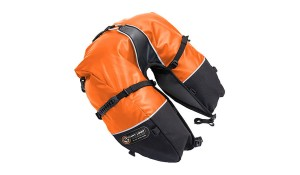 Giantloop ROGAL SAKWA  Coyote Saddlebag Roll Top  ORANGE