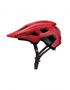 KASK ROWEROWY HEBO  BALDER MONOCOLOR RED   L-XL (58-61 CM) ENDURO, ALL MOUNTAIN i BIKE TRIAL  (1) (1)