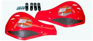 Listki do handbarów Enduro Engineering Plastic outer mount Roost Deflectors